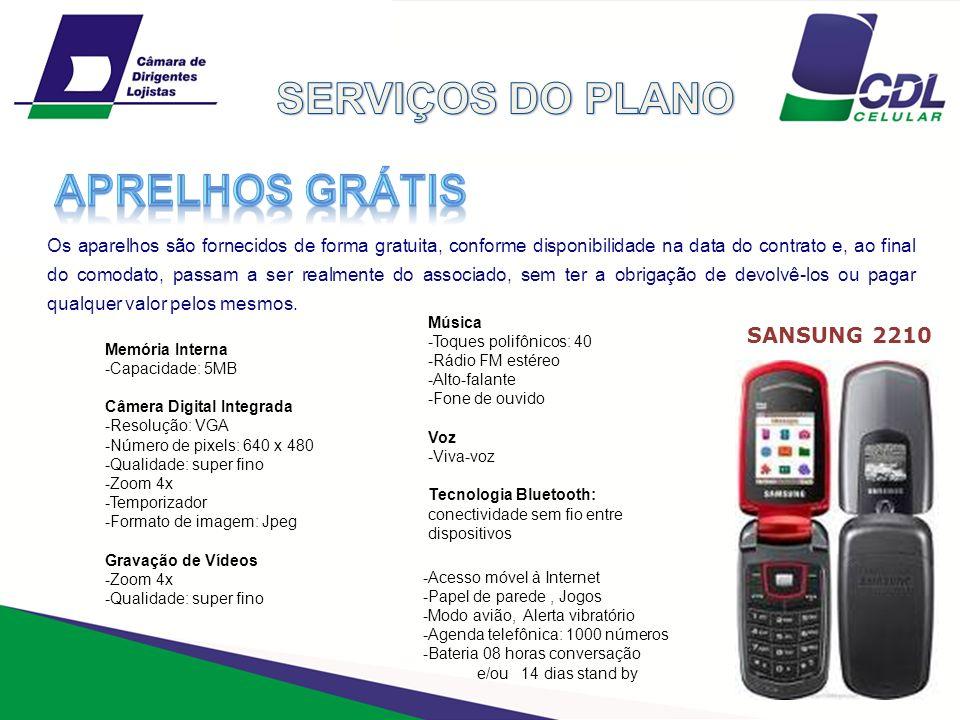 SERVIÇOS DO PLANO APRELHOS GRÁTIS SANSUNG 2210