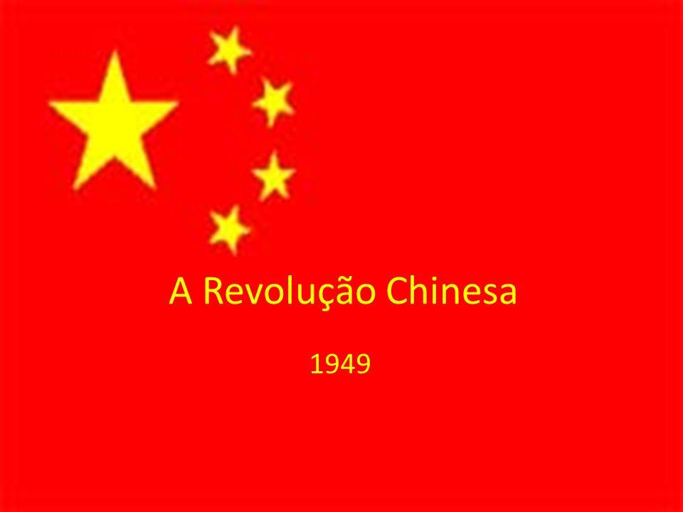 A Revolução Chinesa 1949