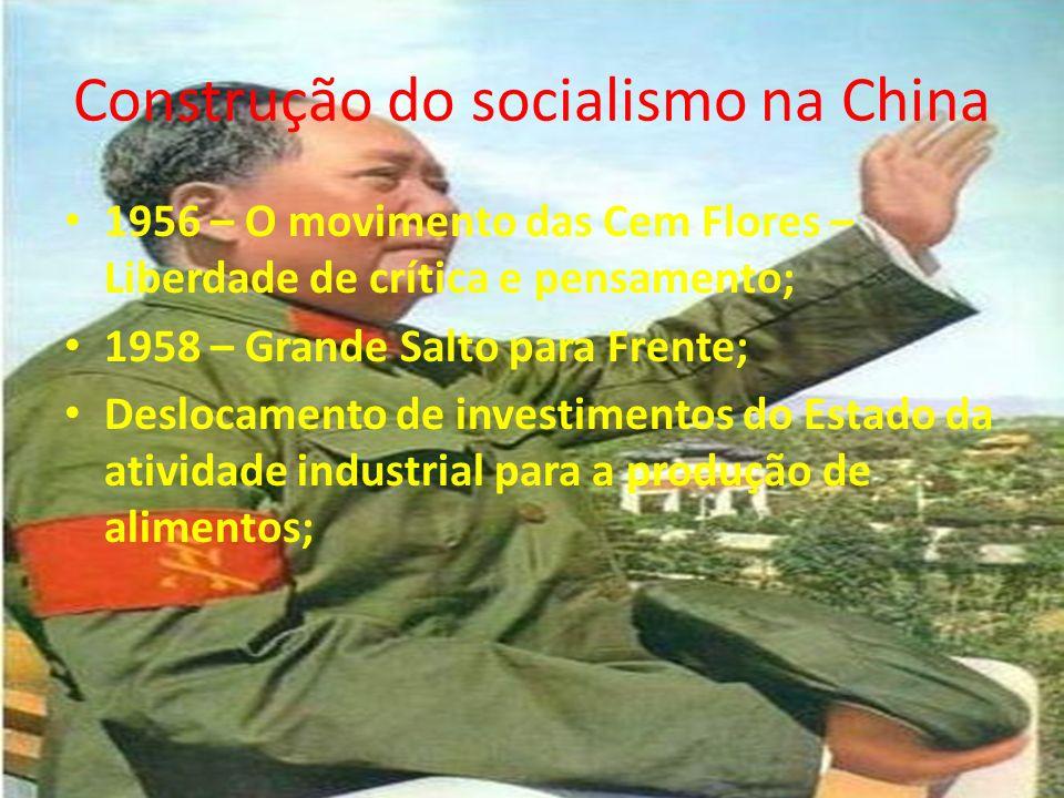 Construção do socialismo na China