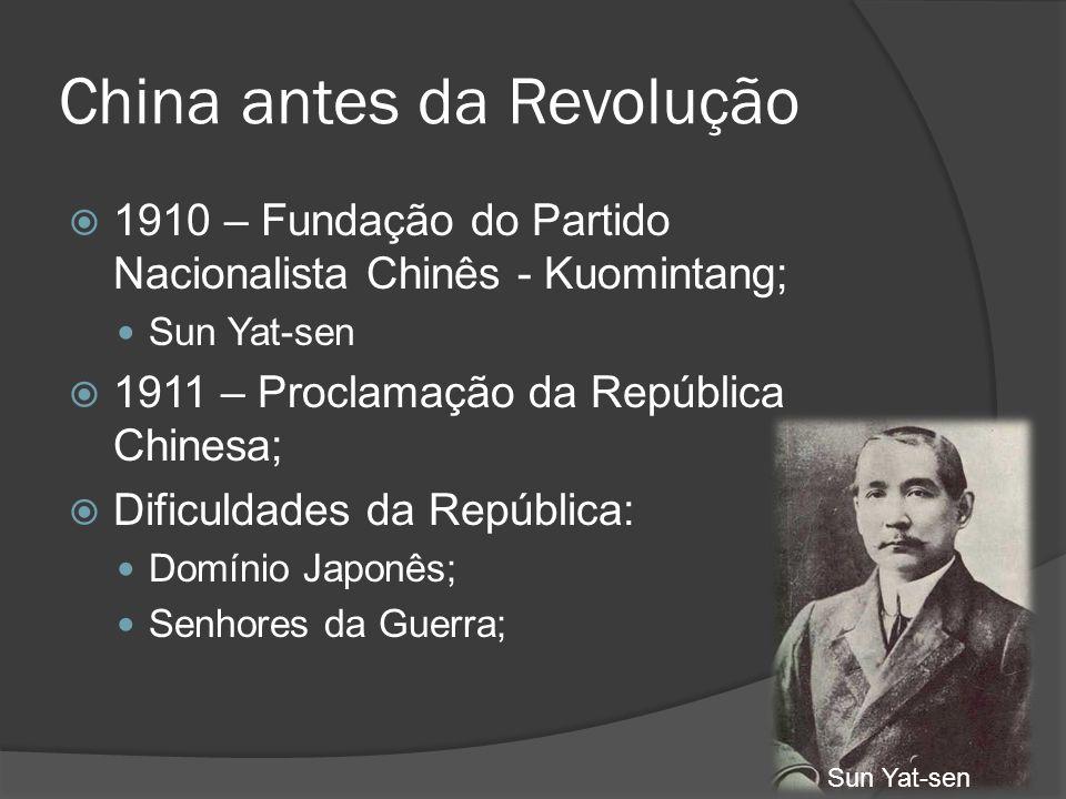 China antes da Revolução