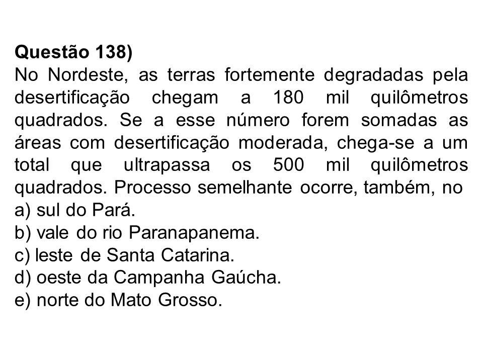 Questão 138)
