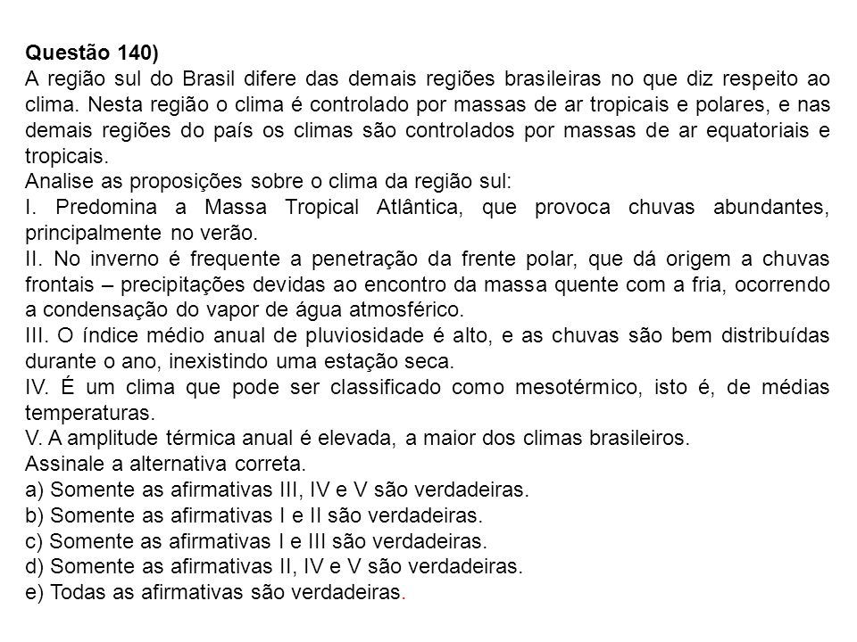 Questão 140)