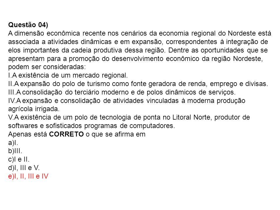 Questão 04)