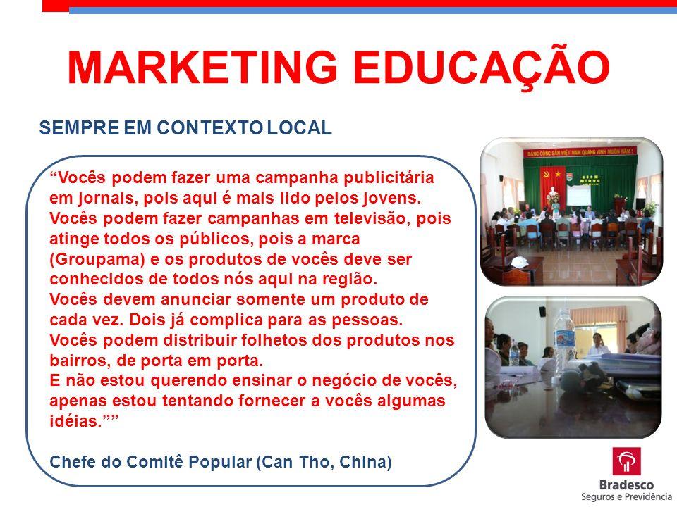 MARKETING EDUCAÇÃO SEMPRE EM CONTEXTO LOCAL