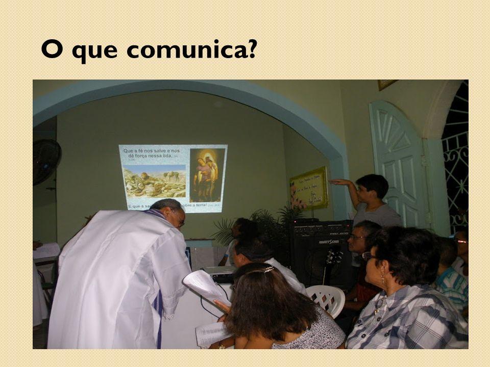 O que comunica