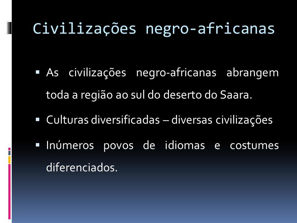 Civilizações negro-africanas