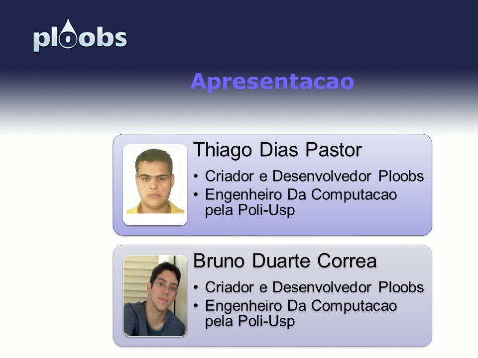 Apresentacao Thiago Dias Pastor Bruno Duarte Correa