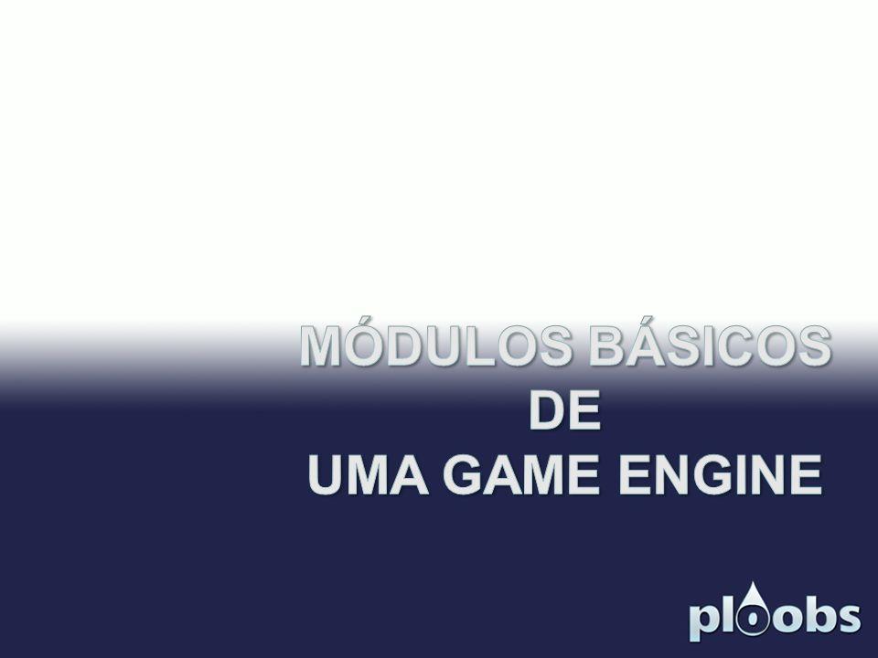 MÓDULOS BÁSICOS DE UMA GAME ENGINE