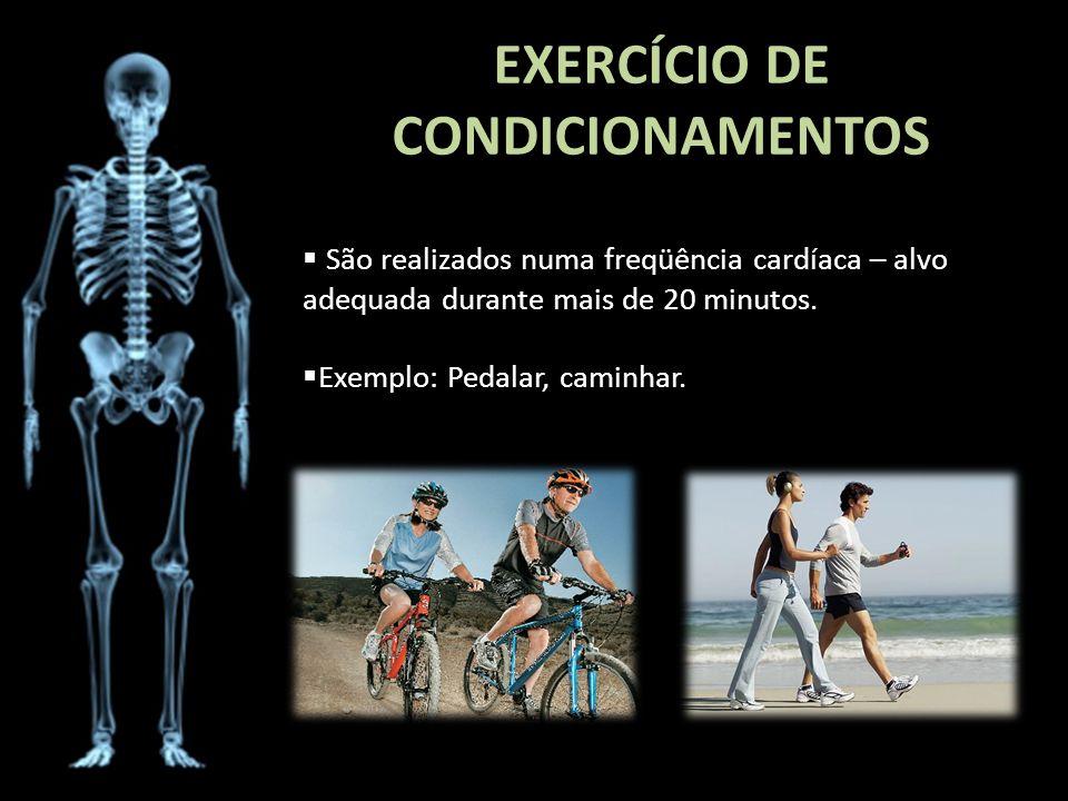 EXERCÍCIO DE CONDICIONAMENTOS