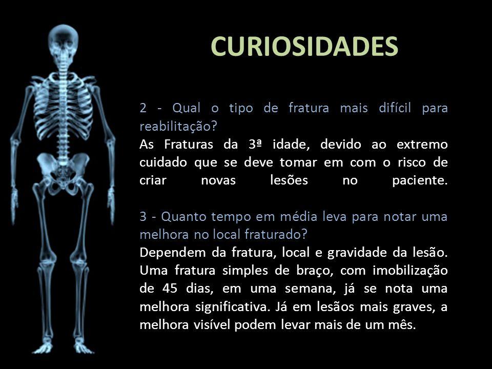 CURIOSIDADES 2 - Qual o tipo de fratura mais difícil para reabilitação