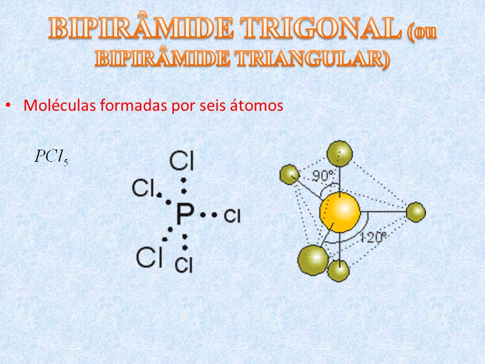 BIPIRÂMIDE TRIGONAL (ou BIPIRÂMIDE TRIANGULAR)