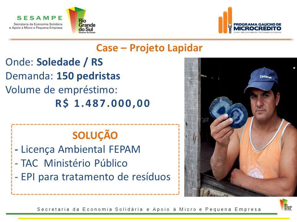 - Licença Ambiental FEPAM TAC Ministério Público