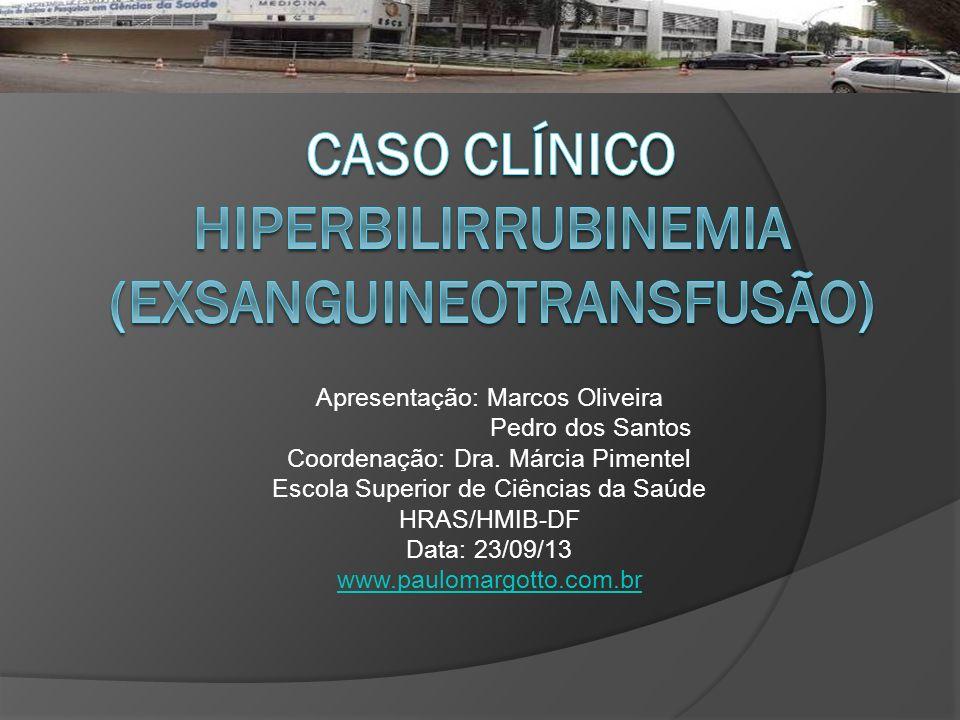 Caso clínico Hiperbilirrubinemia (Exsanguineotransfusão)