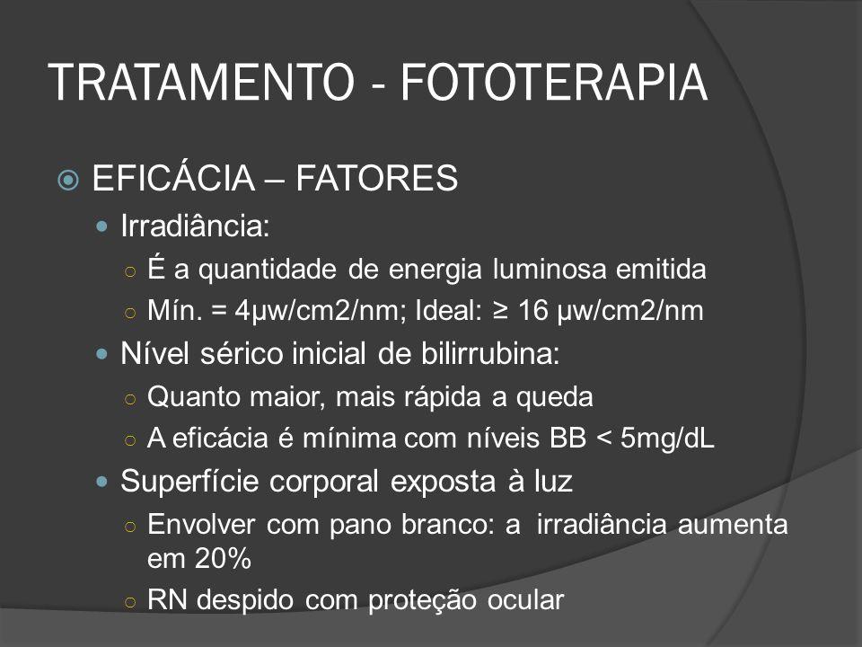 TRATAMENTO - FOTOTERAPIA