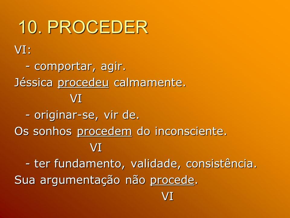 10. PROCEDER