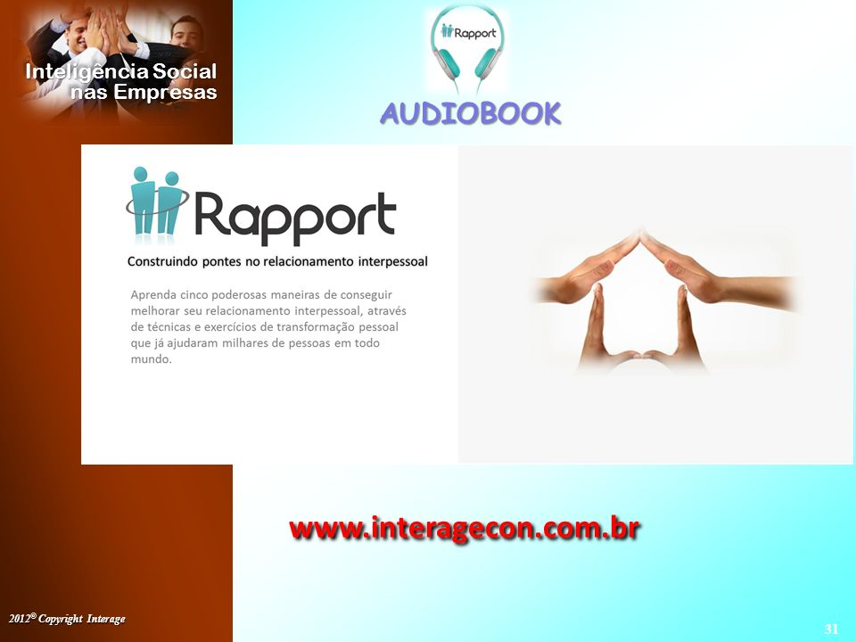 AUDIOBOOK www.interagecon.com.br