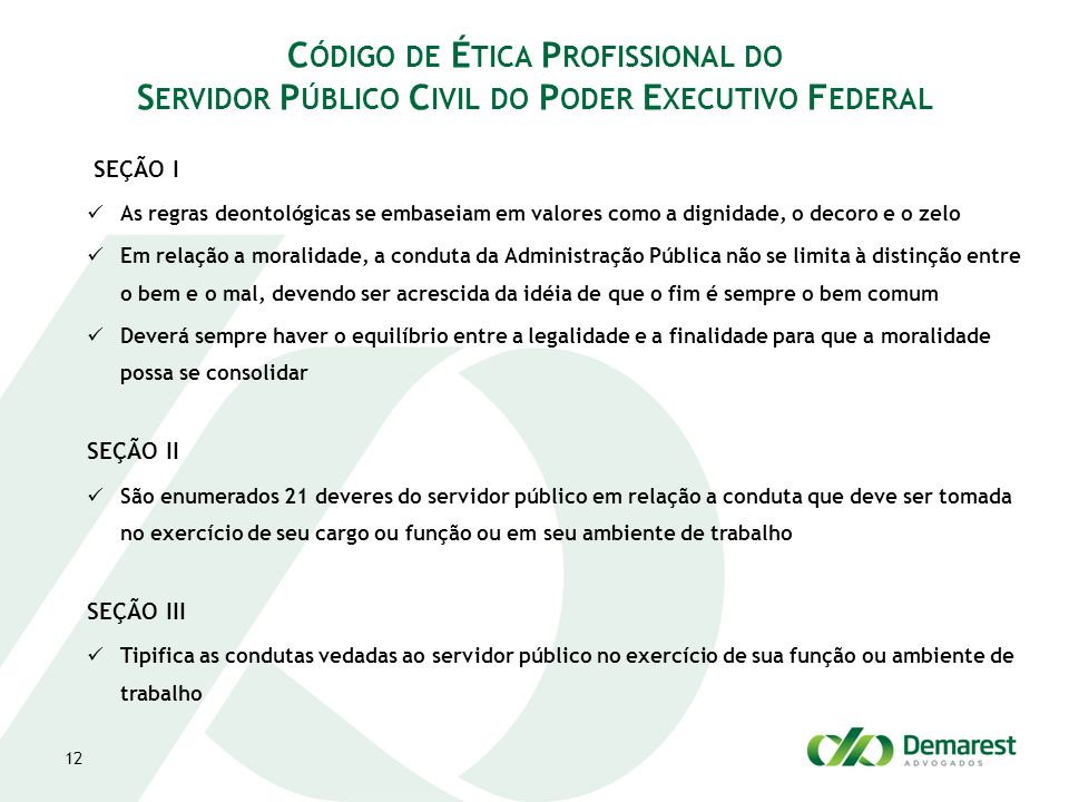 Código de Ética Profissional do Servidor Público Civil do Poder Executivo Federal