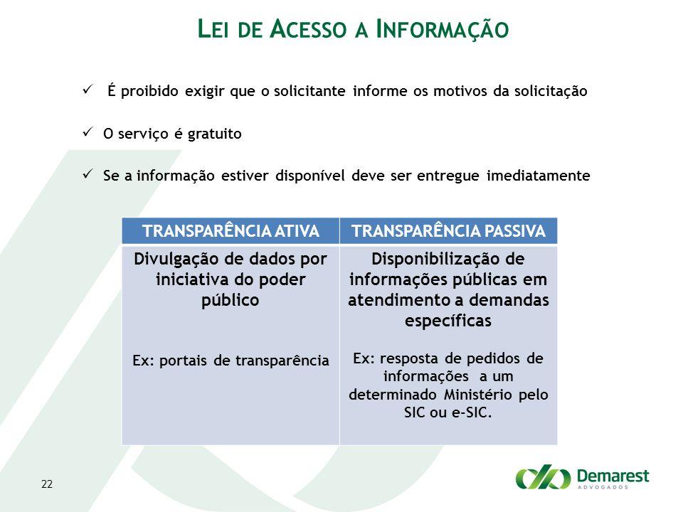 Lei de Acesso a Informação