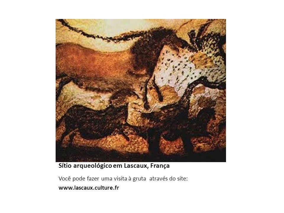Sítio arqueológico em Lascaux, França