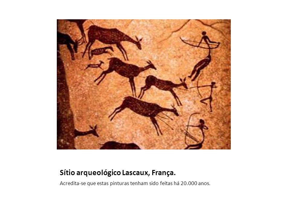 Sítio arqueológico Lascaux, França.