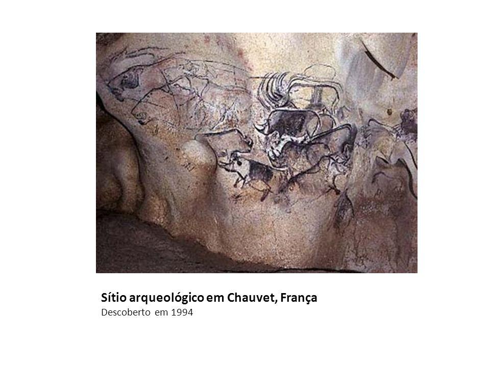 Sítio arqueológico em Chauvet, França Descoberto em 1994