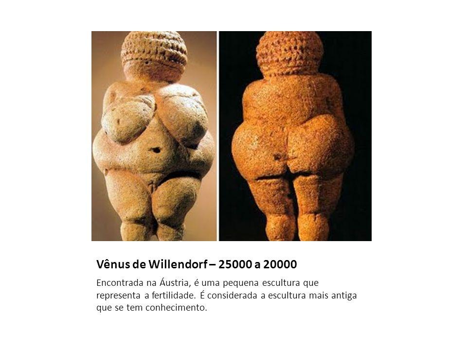 Vênus de Willendorf – 25000 a 20000