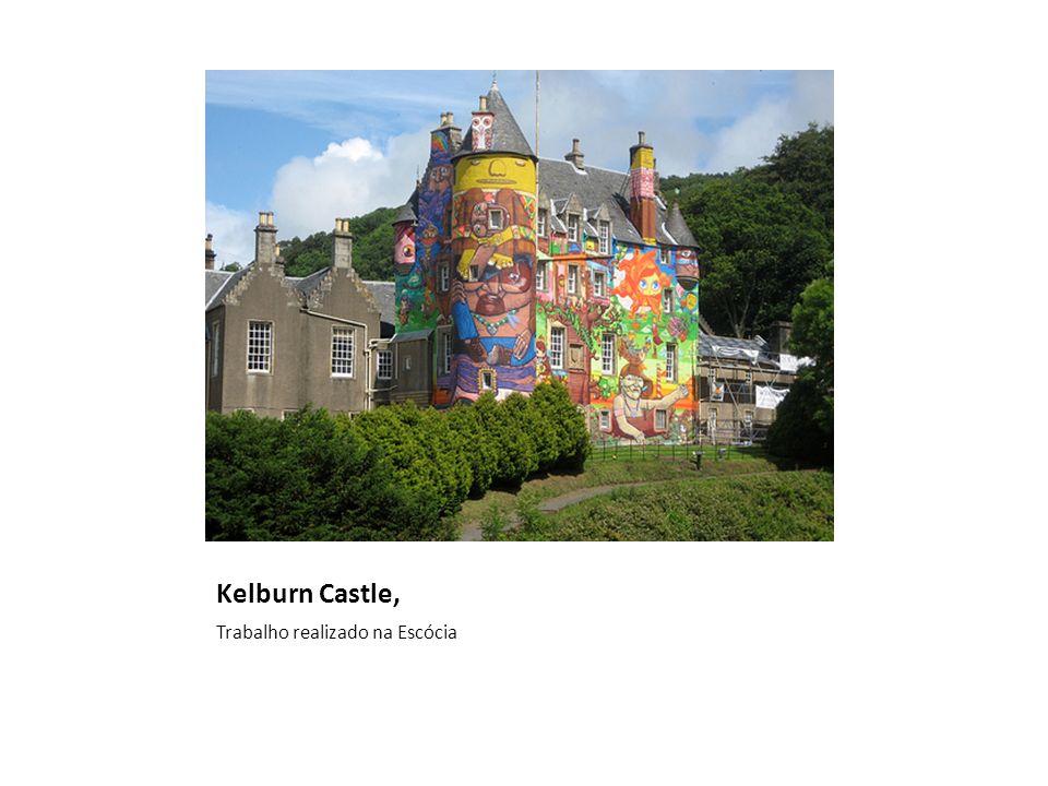 Kelburn Castle, Trabalho realizado na Escócia