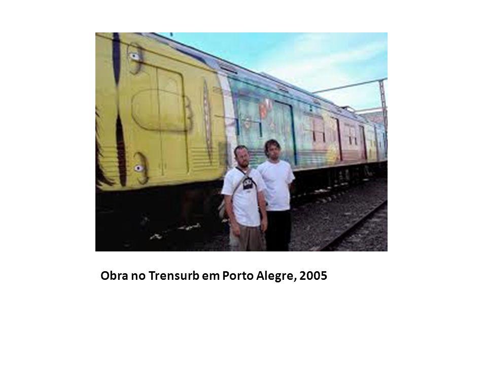 Obra no Trensurb em Porto Alegre, 2005