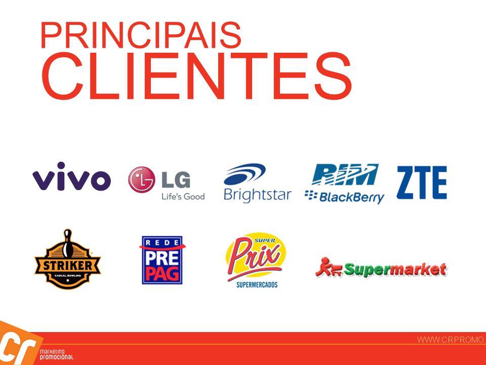 PRINCIPAIS CLIENTES WWW.CRPROMO.COM.BR