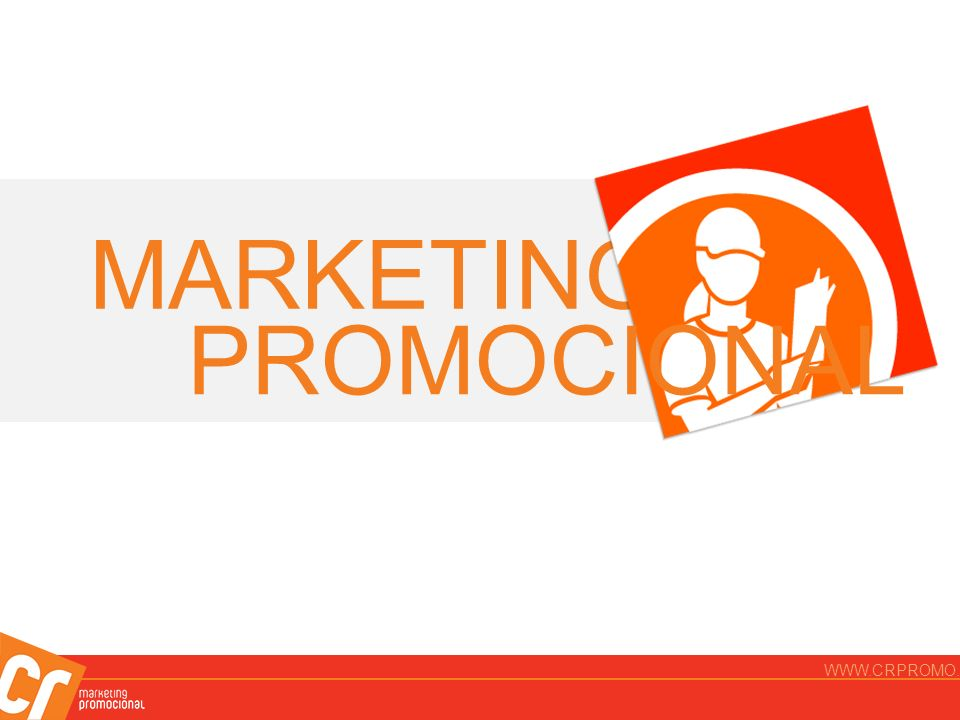 MARKETING PROMOCIONAL WWW.CRPROMO.COM.BR