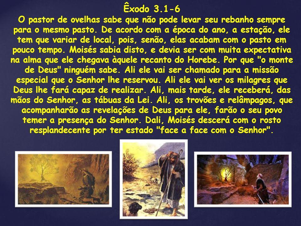 Êxodo 3.1-6