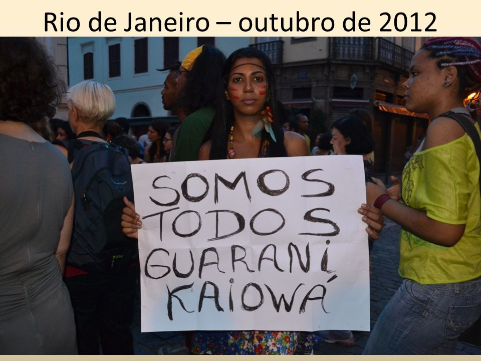 Rio de Janeiro – outubro de 2012