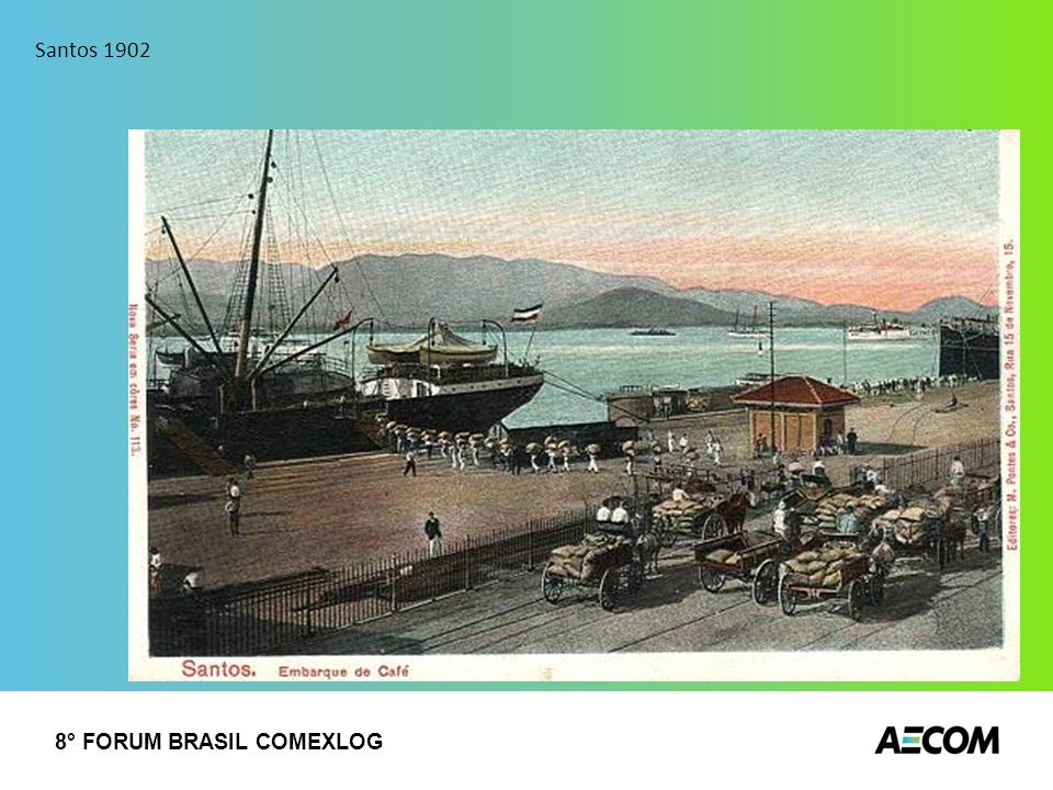 Santos 1902 8° FORUM BRASIL COMEXLOG