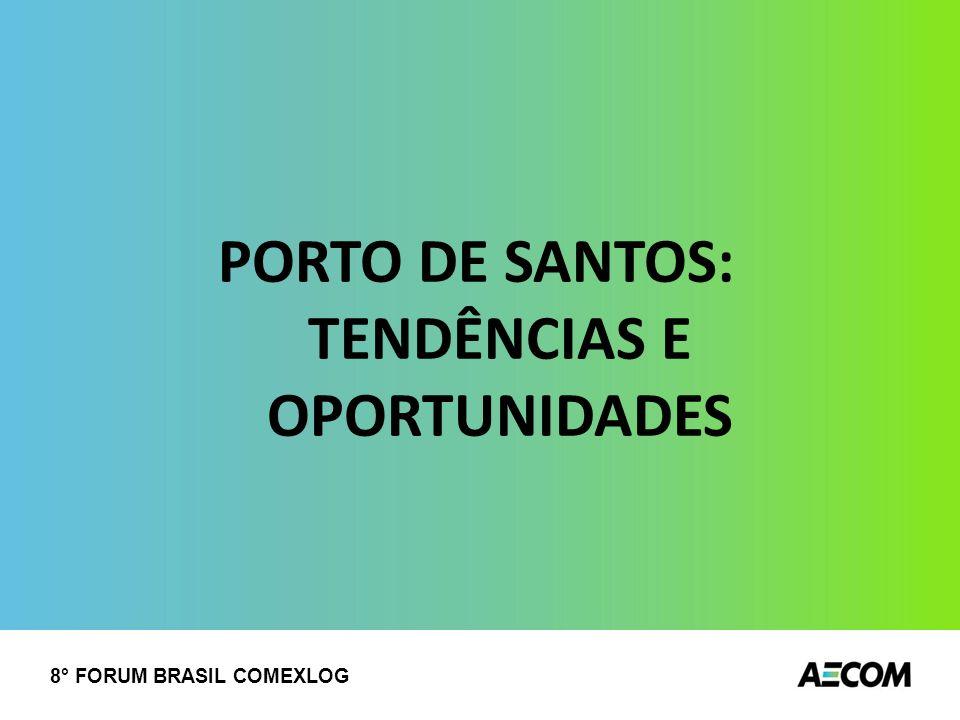 PORTO DE SANTOS: TENDÊNCIAS E OPORTUNIDADES