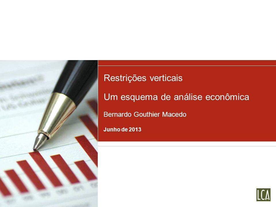 Um esquema de análise econômica