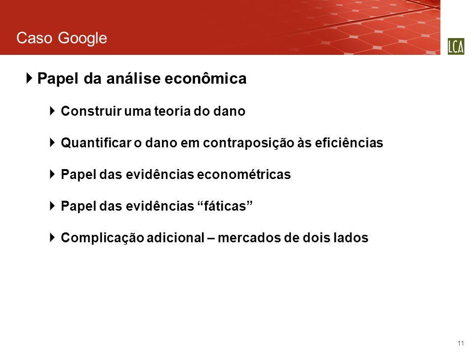 Papel da análise econômica