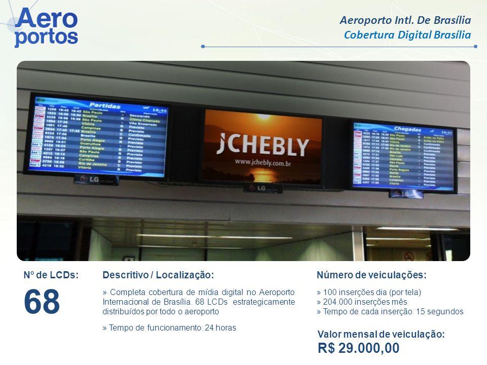 68 R$ 29.000,00 Aeroporto Intl. De Brasília Cobertura Digital Brasília