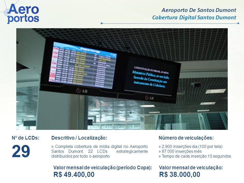 29 R$ 49.400,00 R$ 38.000,00 Aeroporto De Santos Dumont