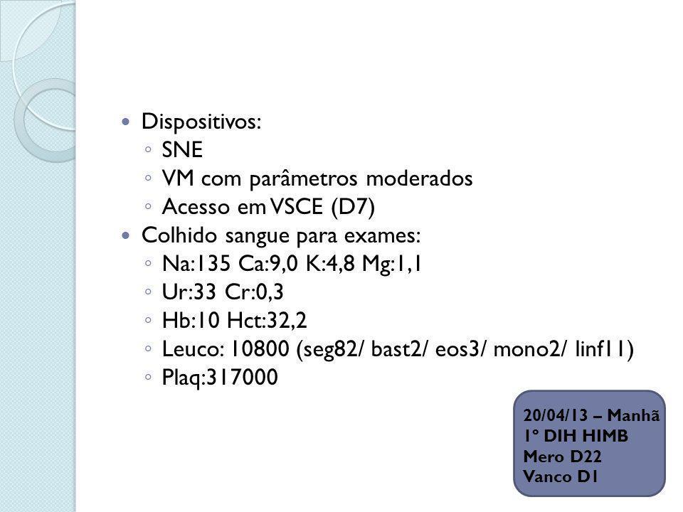 VM com parâmetros moderados Acesso em VSCE (D7)