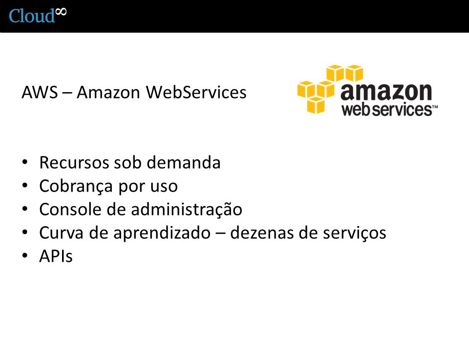 AWS – Amazon WebServices