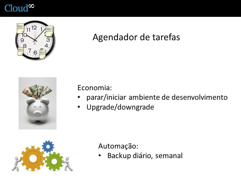 Agendador de tarefas Economia: