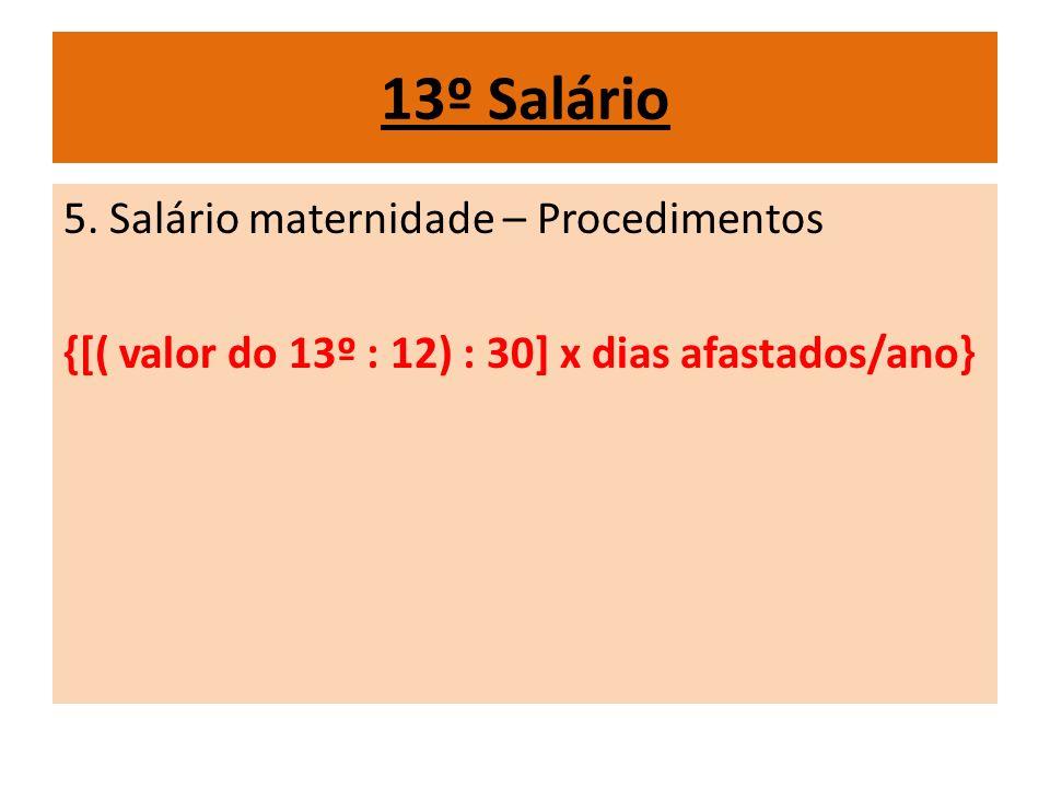 13º Salário 5.