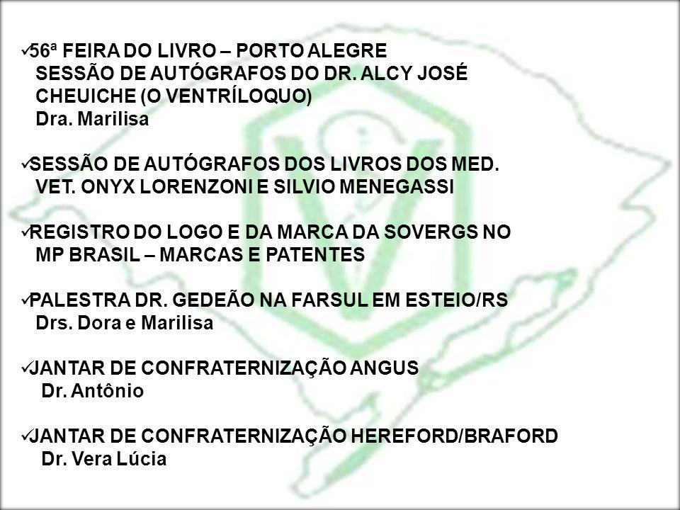 56ª FEIRA DO LIVRO – PORTO ALEGRE