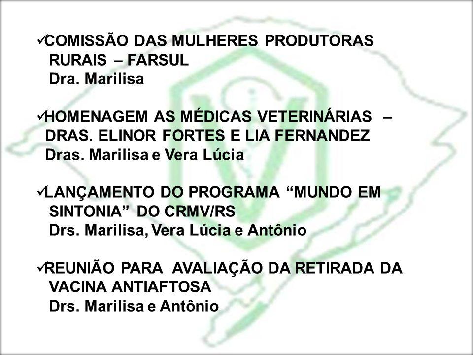COMISSÃO DAS MULHERES PRODUTORAS