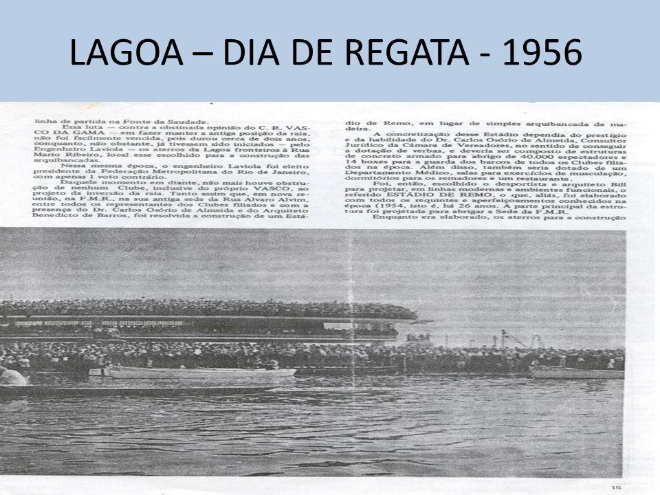 LAGOA – DIA DE REGATA - 1956