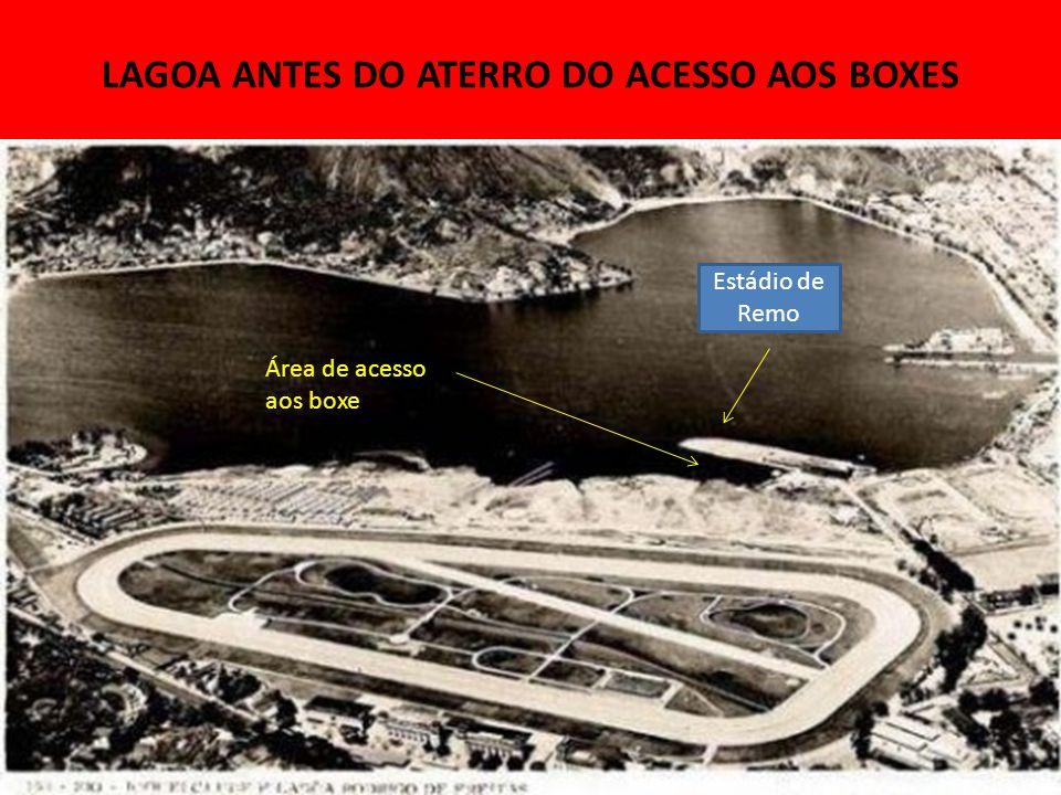 LAGOA ANTES DO ATERRO DO ACESSO AOS BOXES