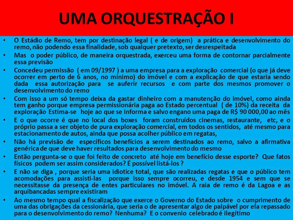 UMA ORQUESTRAÇÃO I