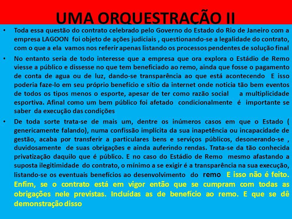 UMA ORQUESTRAÇÃO II