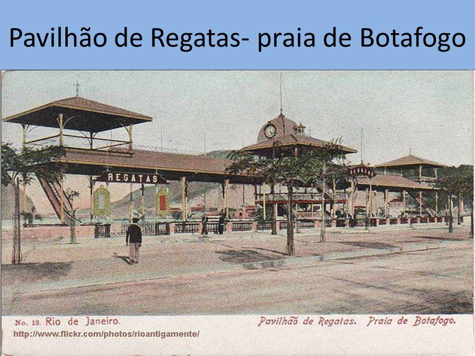 Pavilhão de Regatas- praia de Botafogo