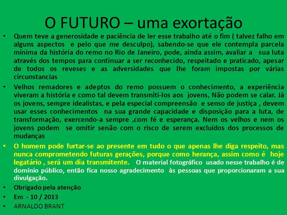 O FUTURO – uma exortação
